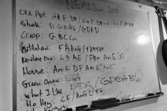 The NEMIJam Setlist