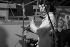 Rachel Bitner (NYU) rockin' the power flute.